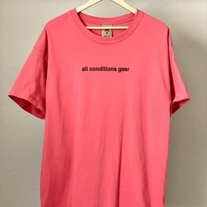 Nike ACG T-Shirt All Conditions Gear Ember Glow L